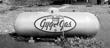Gygr-Gas tank logo graphic